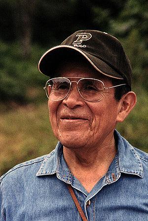 Pablo Amaringo - Pablo Amaringo during a 2002 Ayahuasca Healing Retreat, held in the Brazilian Amazo