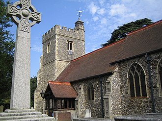 Grade I and II* listed buildings in the London Borough of Hillingdon - Image: Harlington, The Church of St Peter and St Paul geograph.org.uk 207150