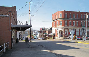 National Register of Historic Places listings in Ritchie County, West Virginia - Image: Harrisville West Virginia