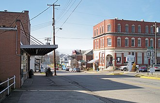 Harrisville, West Virginia - Main Street in Harrisville in 2007