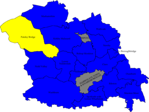 election map result with Harrogate Borough Council Election  2008 on Index left additionally City of Bradford Metropolitan District Council election  1995 moreover The Search For Statutory Ulster additionally Nanded moreover 4644172.