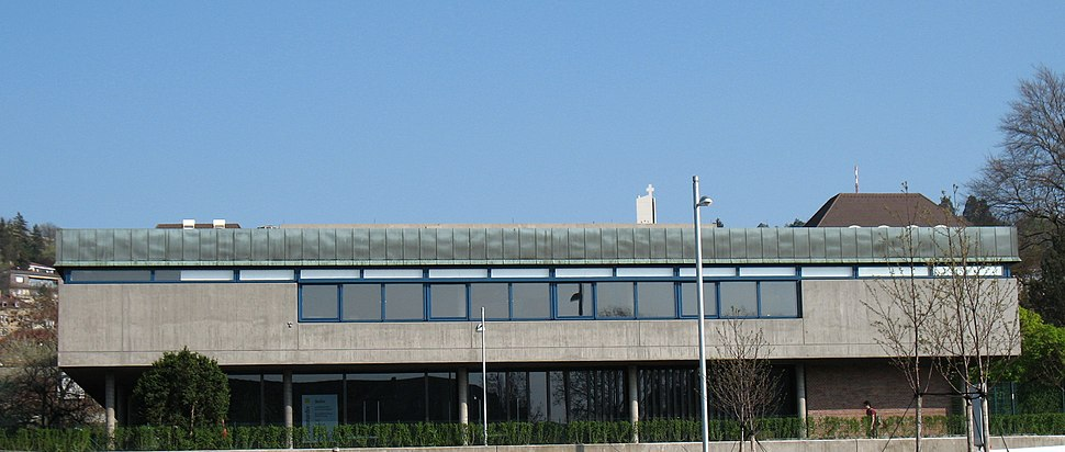 Hauptstaatsarchiv Stuttgart, Fassade zur Konrad-Adenauer-Str. (2007)