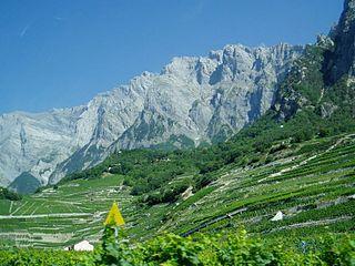 Haut de Cry mountain in Switzerland