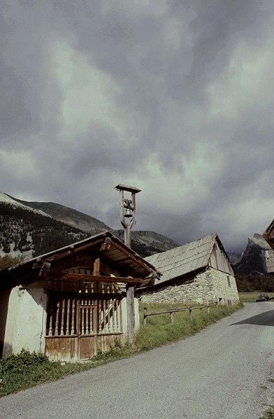 Hautes-Alpes Ceillac Cime Du Melezet Chapelle 071986