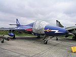 Hawker Hunter T3 - Elvington.JPG