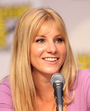 Heather Morris - Morris at the San Diego Comic-Con International in 2010