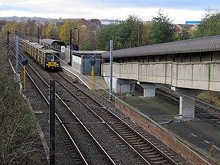 Hebburn Metro station Tyne and Wear Metro station in South Tyneside