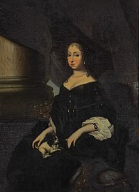 Hedwig Eleanor of Sweden c 1666 by David Klöcker Ehrenstrahl (crop).jpg