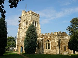 Henlow - Image: Henlow, St Mary (geograph 4424492)