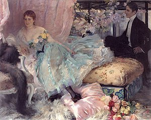 Henri Lucien Doucet - After the Ball