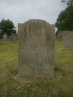 Hercules Linton - Hercules Linton's tombstone at the Inverbervie Kirkyard