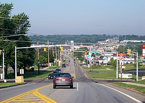 Hermitage, Pennsylvania - Entering town
