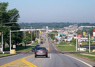 Hermitage, Pennsylvania - Entering town