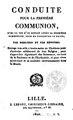 Hervé le Poitevin - Conduite pour la première communion, avec la vie d'un enfant après sa première communion, pour en conserver le fruit, 1822.pdf