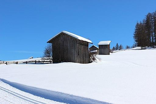 Heuhütte Heuschupfe Südtirol