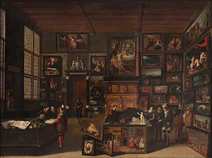 Francken - The Cabinet of an Art Collector, by Hieronymus Francken II, 1621