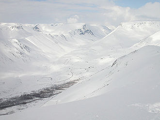 Khibiny Mountains - Khibins in winter