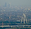 High buildings near Nagoya Station and Twin Arch 138 from Gifu Castle.jpg