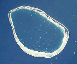 NASA picture of Hikueru.