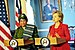 Hillary Clinton meets with Liberian President Ellen Johnson-Sirleaf, April 2009-1.jpg