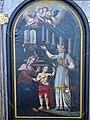 Hoheneich Pfarrkirche - Altar Johannes im Tempel 4.jpg