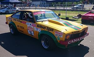 1977 Hardie-Ferodo 1000 - Peter Janson and Larry Perkins placed third in a Holden LX Torana SS A9X. (Car pictured in 2015)