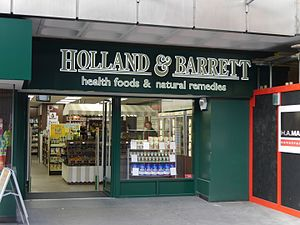 Holland & Barrett - Image: Holland & Barrett, King Street, Hammersmith