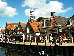 Ancient houses in Lemmer