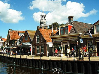 Lemmer - Ancient houses in Lemmer