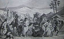 Holman Israelites Carried Captive