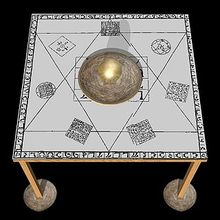 Enochian magic System of ceremonial magic based on the evocation and commanding of various spirits