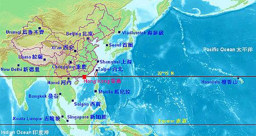 Géographie de Hong Kong — Wikipédia