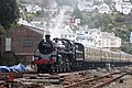 Hoodown - 75014 leaving Kingswear.JPG