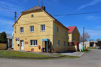 Horní Kozolupy - Image: Horní Kozolupy, municipal office