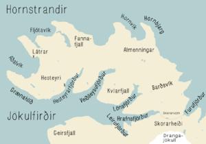 Hornstrandir - Hornstrandir peninsula and Jökulfirðir