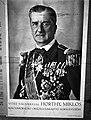 Horthy Miklós plakát Budapesten 1940-ben. Fortepan 71428.jpg