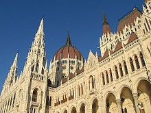 Gothic Revival Architecture Houses Of Parliament Budapest