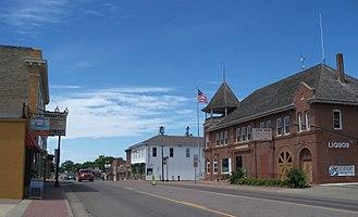 Howard Lake, Minnesota - Downtown Howard Lake