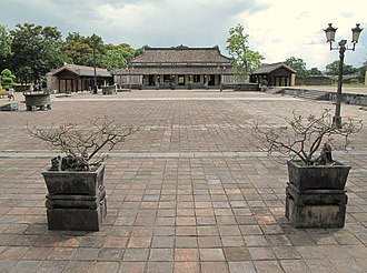 Imperial City, Huế - Courtyard of the Imperial City.