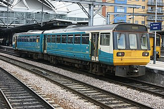Pacer (train) - An Arriva Trains Northern Class 142 Pacer at Leeds