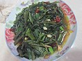 Hunan cuisine, fried water spinach.jpg