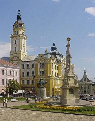 Baranya (region) - Image: Hungary Pecs Main Place