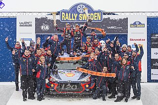 2018 Rally Sweden