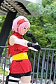 ICDS cosplayer of Sakura Haruno, Naruto 20150822b.jpg