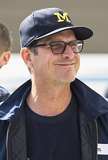 Jim Harbaugh American football player and coach