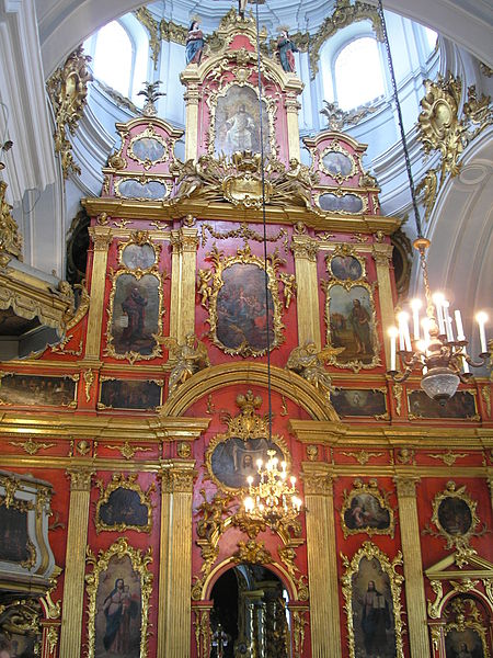 Datei: Iconostasis in St. Andrew's Church.JPG