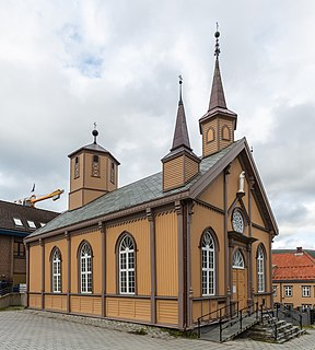 Cathedral of Our Lady, Tromsø Church in Tromsø, Norway