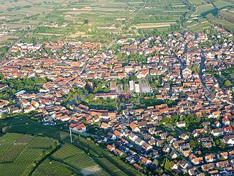 Ihringen - Aerial view