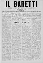 Il Baretti, Anno III, n. 8