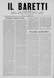 Il Baretti - Anno IV, n. 9
